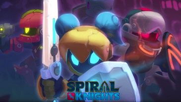 Spiral Knights - A massively multiplayer online role-playing game, battle monsters and collect treasures!