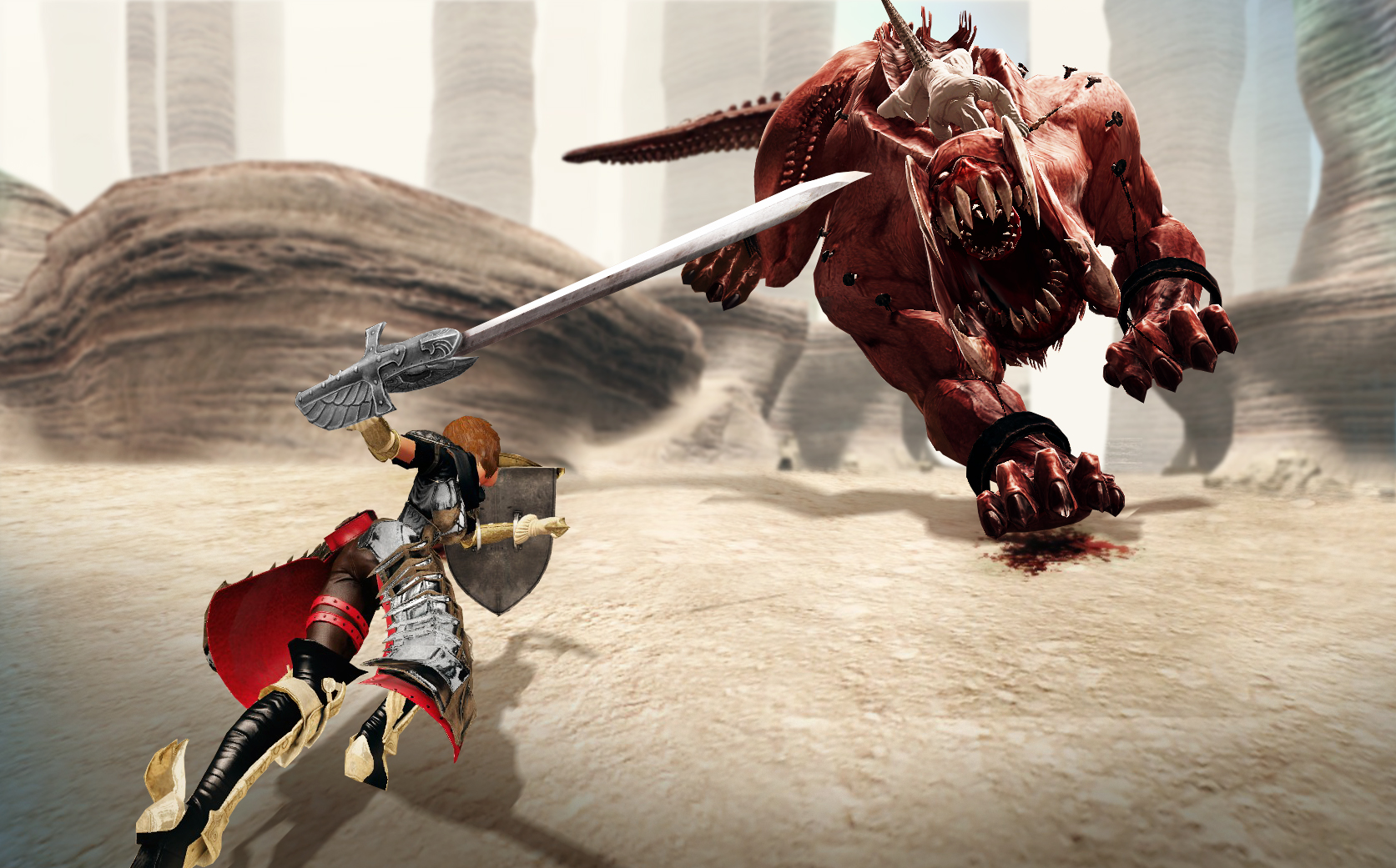 Vindictus Gameplay Screenshot 1