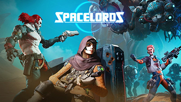 Spacelords - A free-to-play 4v1 sci-fi shooter.