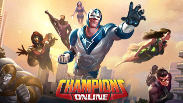 Champions Online - A superhero MMORPG created by the same studio behind City of Heroes.