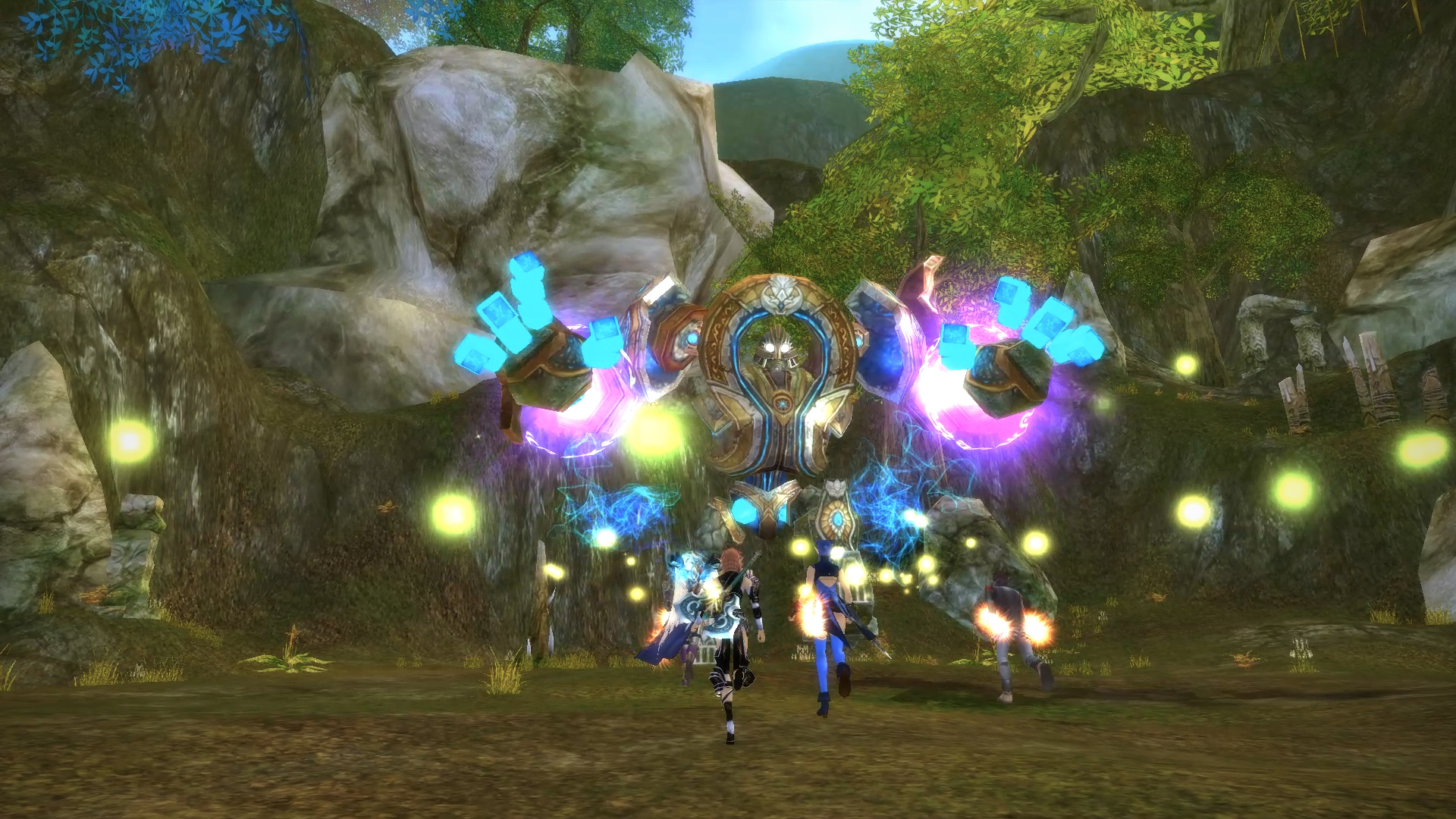 Runes of Magic Gameplay Screenshot 1
