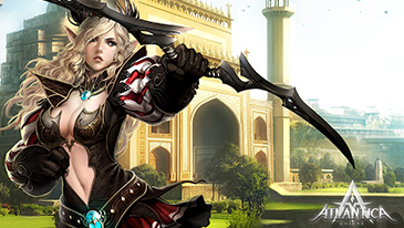 Atlantica Online - A free-to-play 3D tactical massively multiplayer online role-playing game.