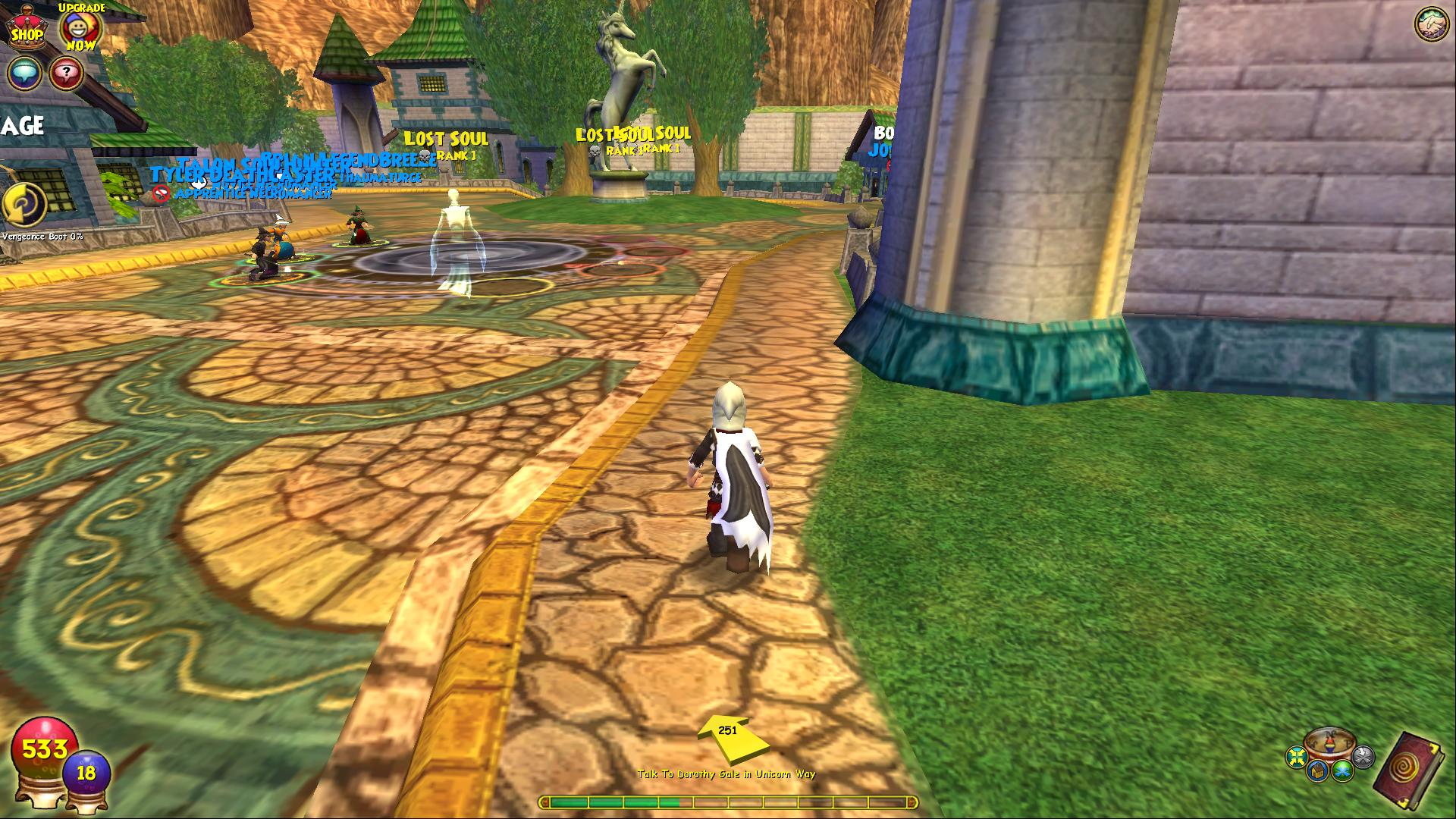 Wizard101 Gameplay Screenshot 1