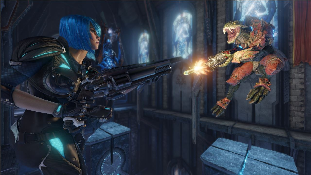 Quake Champions Gameplay Screenshot 2