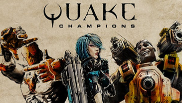 Quake Champions - Quake Champions is a callback to the early days of the Quake IP, featuring the fast-paced action that made the IP popular over two decades ago.