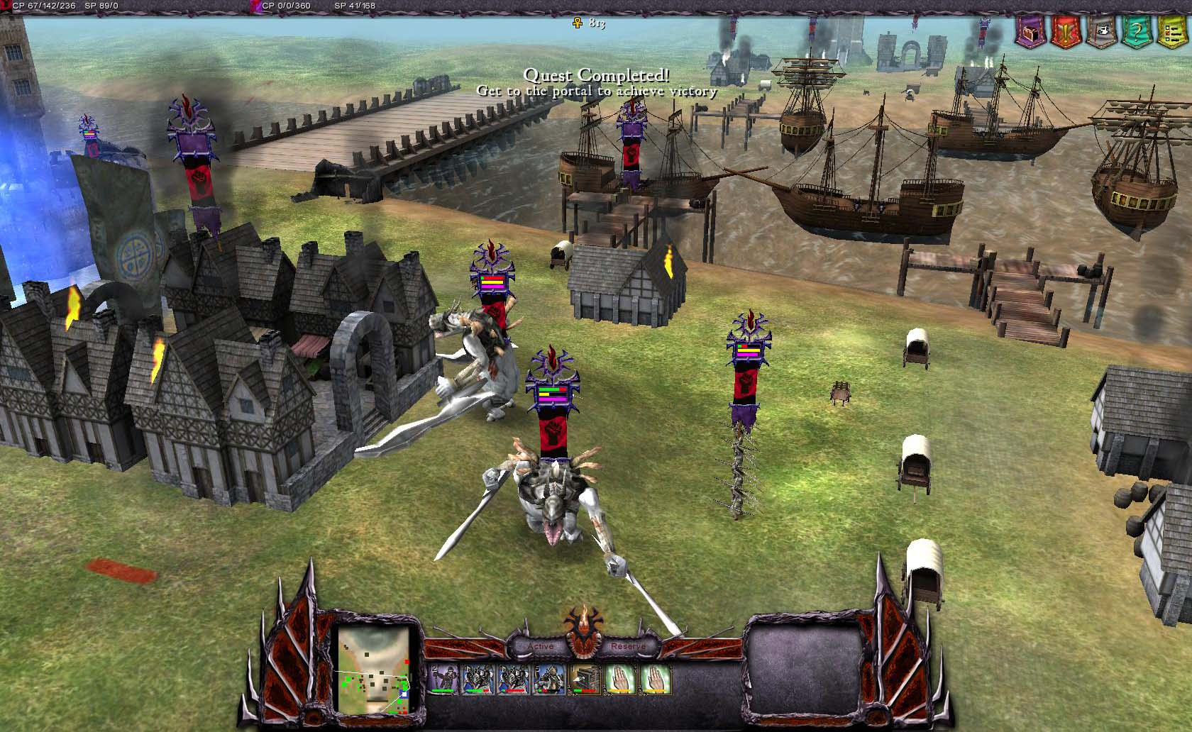 Saga Gameplay Screenshot 1