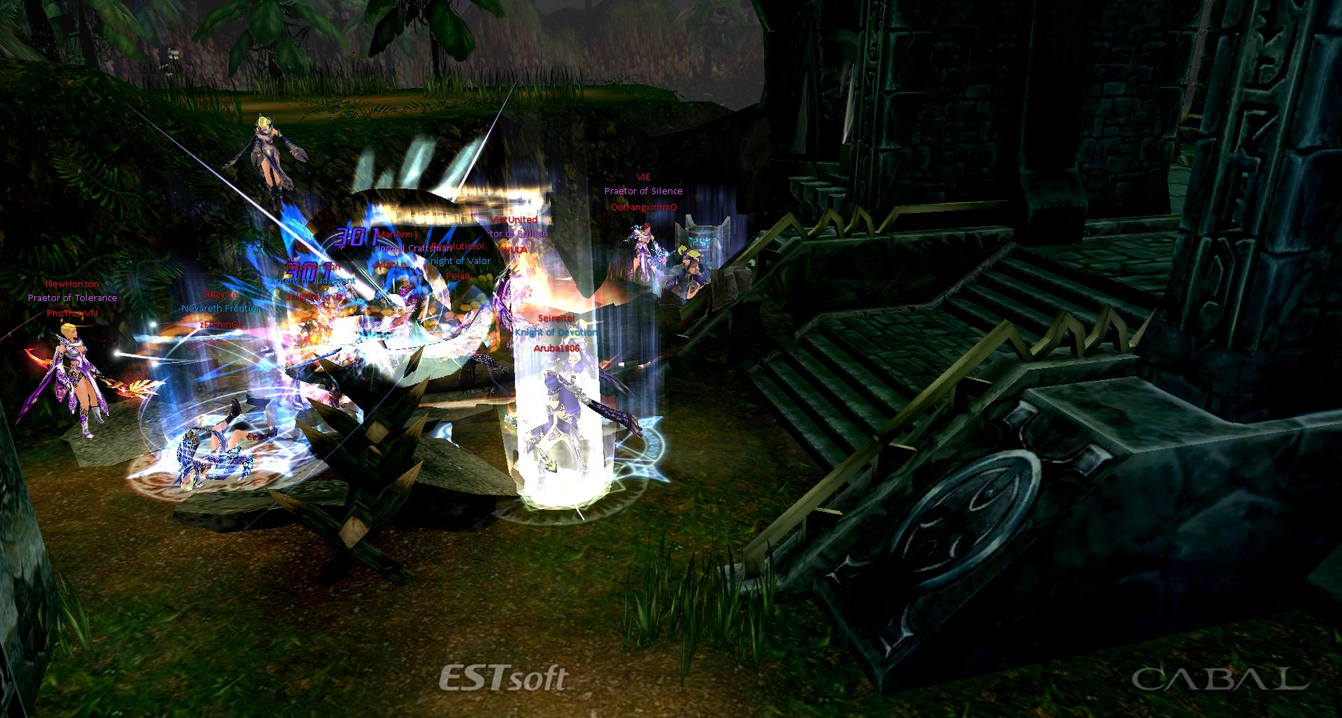 Cabal Online Gameplay Screenshot 2