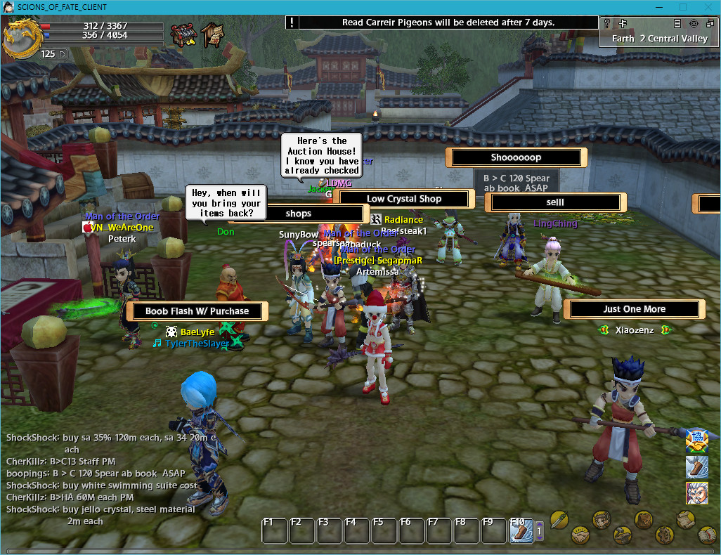 Scions of Fate Gameplay Screenshot 1
