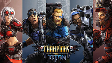 Champions Of Titan - A free-to-play sci-fi MMORPG from IDC/Games.