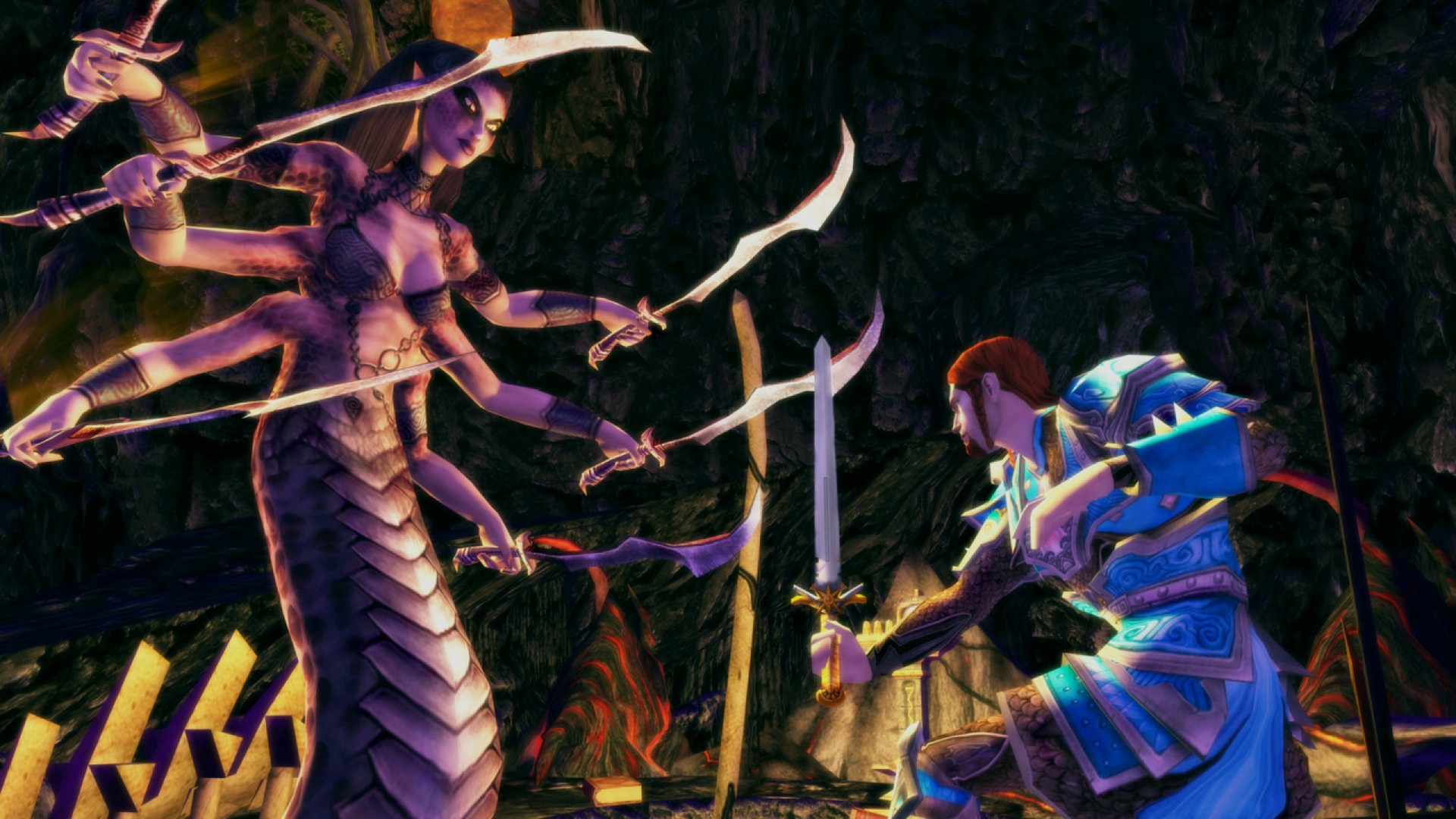 Dungeons and Dragons Online Gameplay Screenshot 2