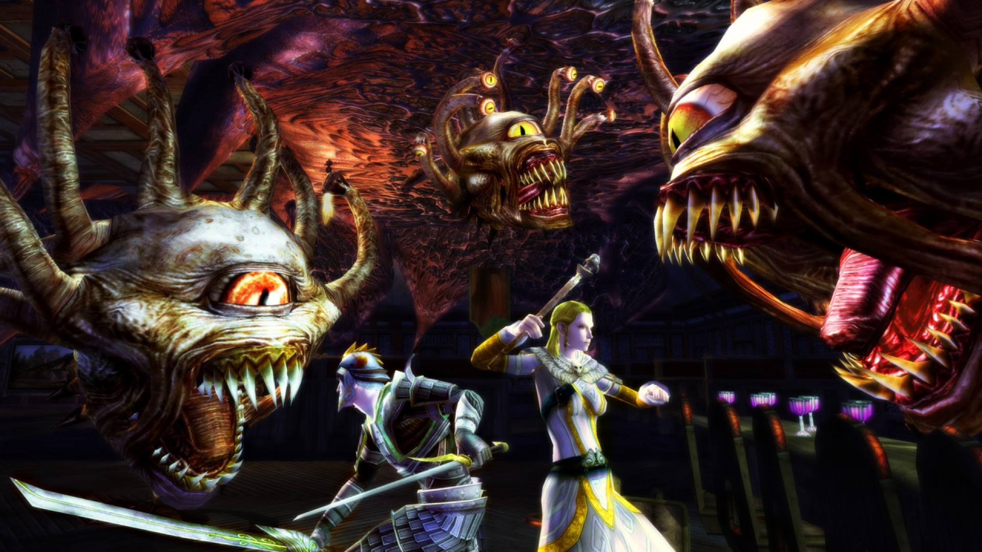 Dungeons and Dragons Online Gameplay Screenshot 3