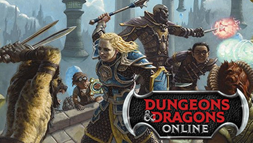 Dungeons and Dragons Online - A free-to-play MMORPG based on the beloved D&D RPG that started it all.