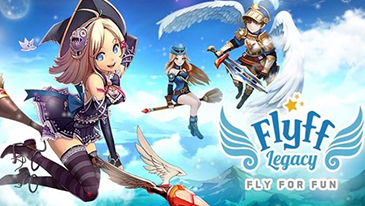 Flyff: Fly For Fun - A free-to-play anime MMORPG with charming visual aesthetic and an addictive gameplay.