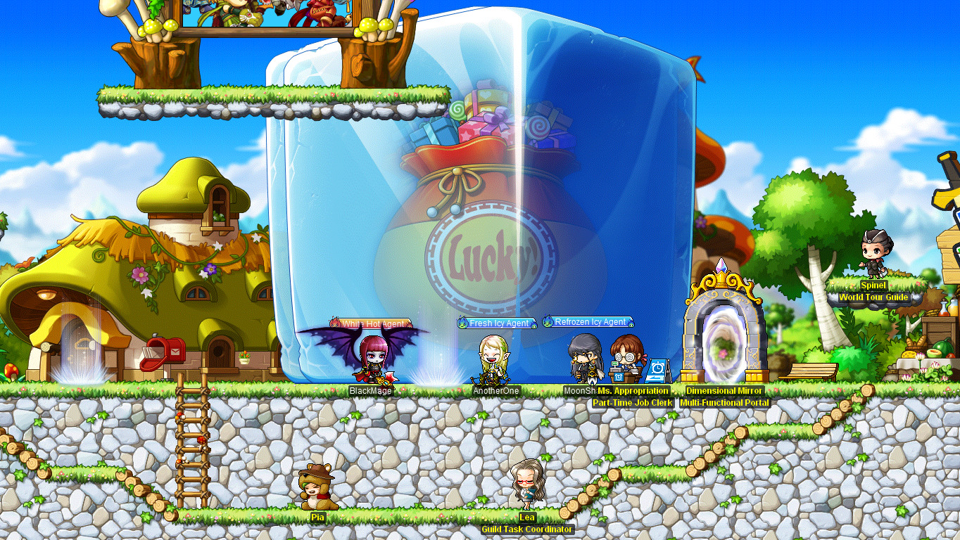 MapleStory Gameplay Screenshot 1