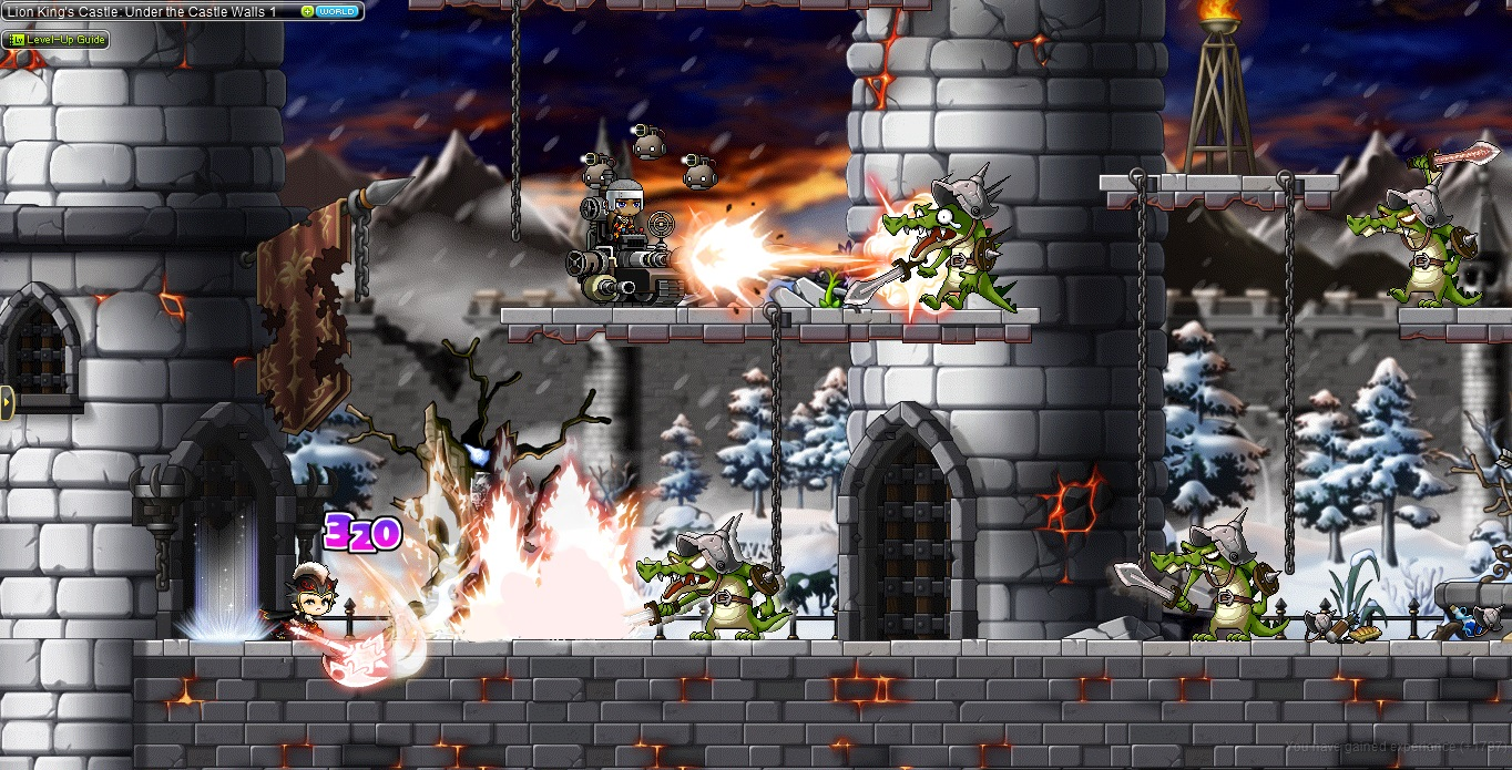 MapleStory Gameplay Screenshot 3