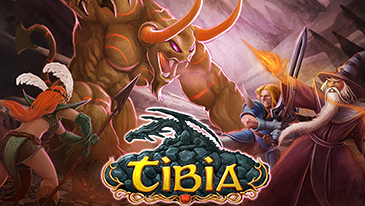 Tibia - A old-school free-to-play massively multiplayer online role-playing game.