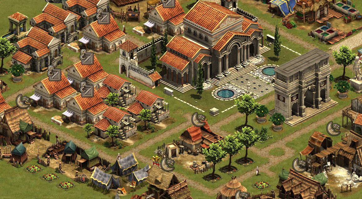 Forge of Empires Gameplay Screenshot 1