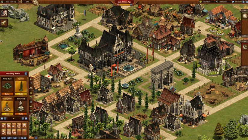 Forge of Empires Gameplay Screenshot 2