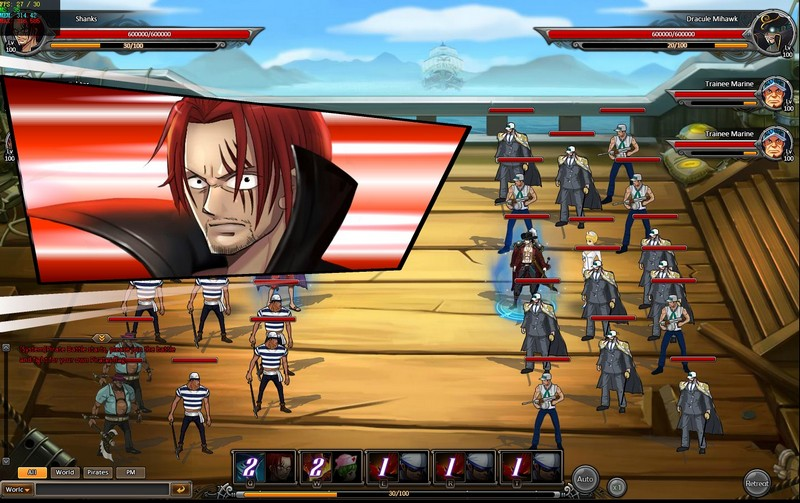 One Piece Online 2 Gameplay Screenshot 1