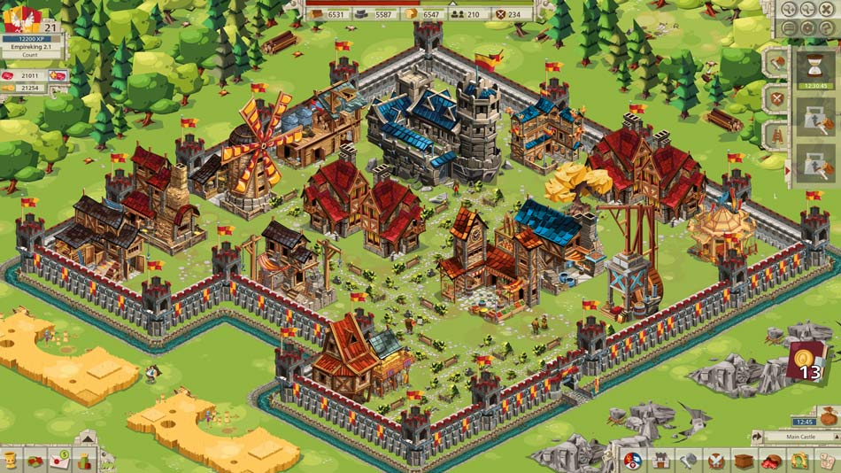 Goodgame Empire Gameplay Screenshot 1