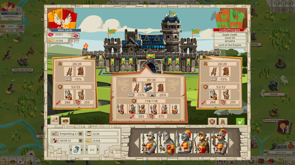 Goodgame Empire Gameplay Screenshot 2