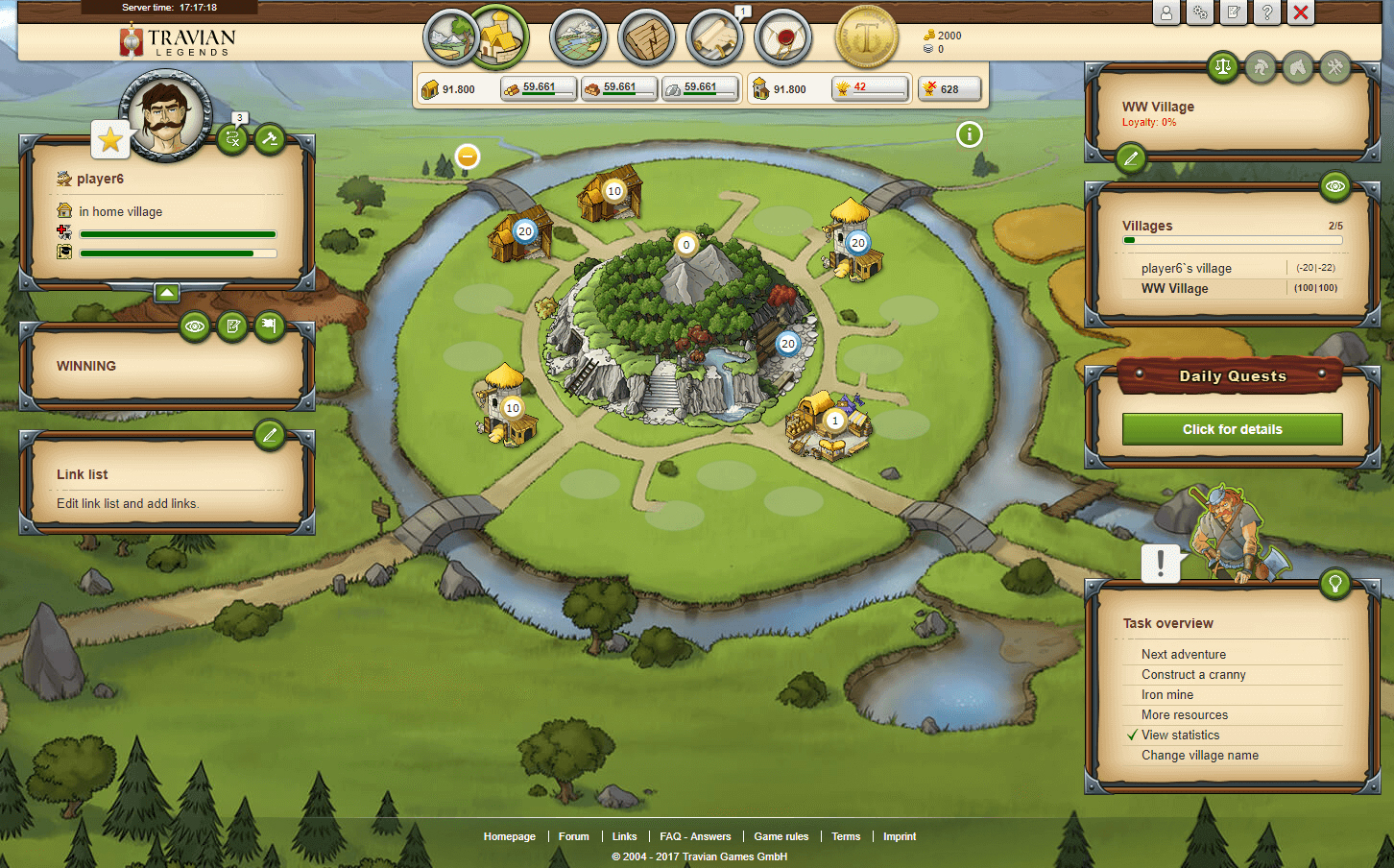 Travian Gameplay Screenshot 3