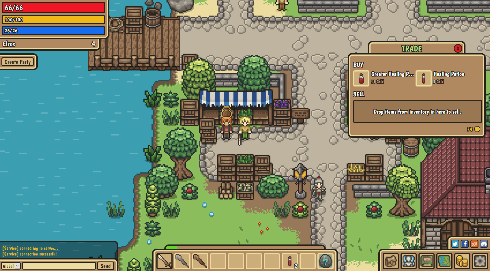 Stein.world Gameplay Screenshot 1