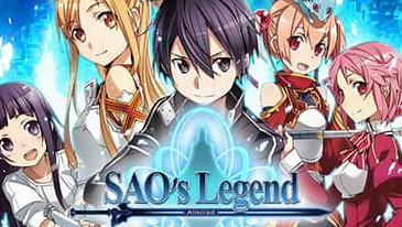 SAO's Legend - A free-to-play browser-based MMO based on the popular anime Sword Art Online.
