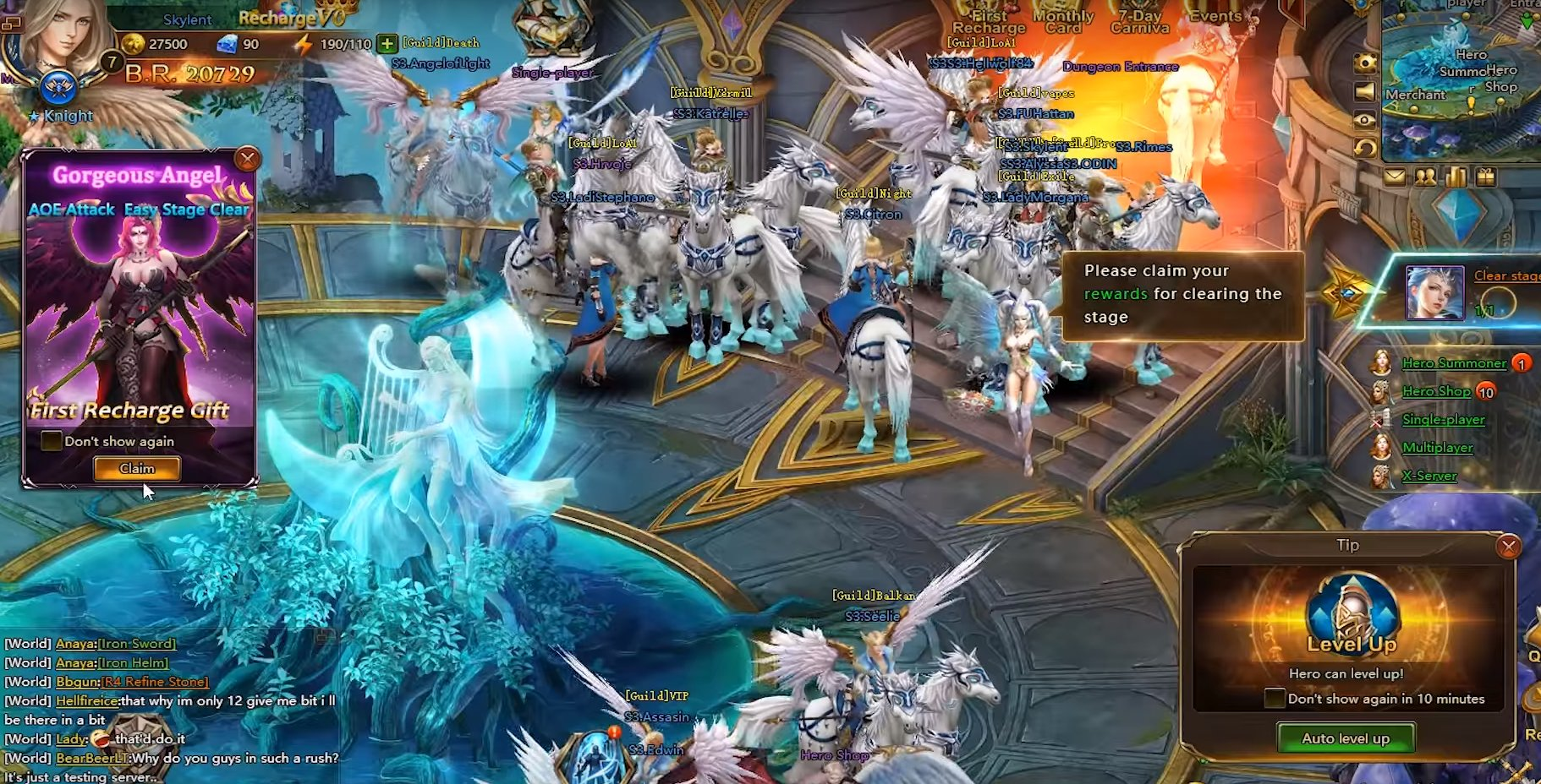 League of Angels 2 Gameplay Screenshot 1