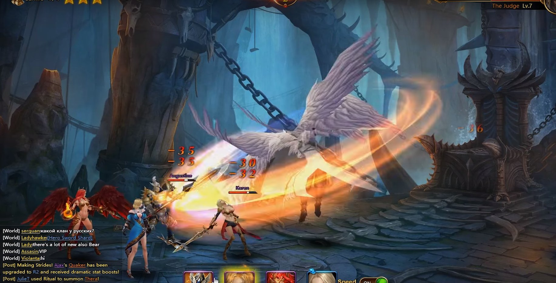League of Angels 2 Gameplay Screenshot 2