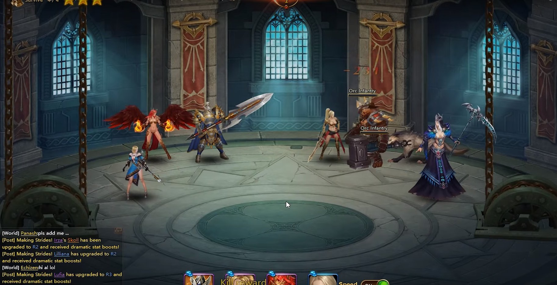 League of Angels 2 Gameplay Screenshot 3