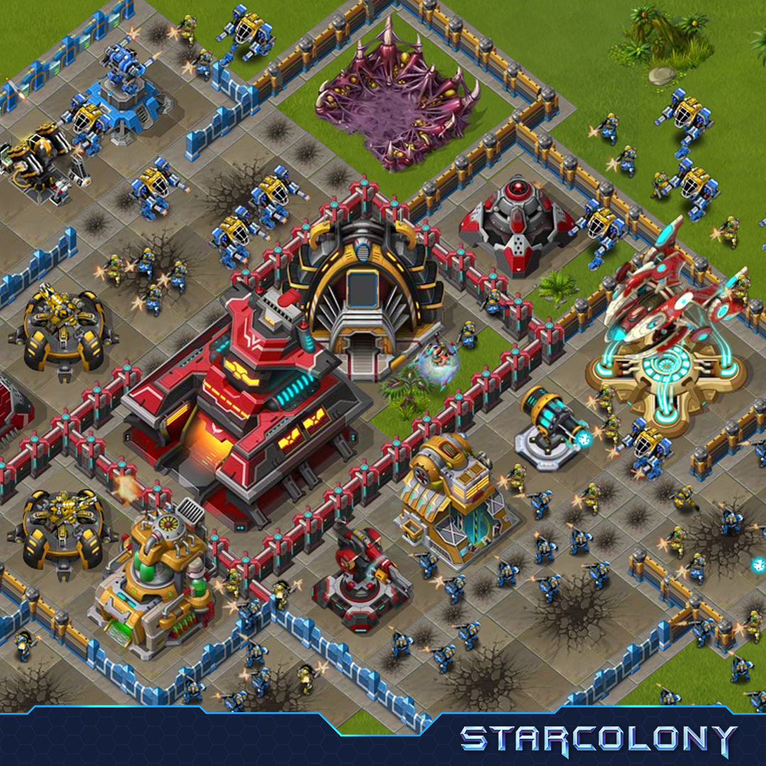 StarColony Gameplay Screenshot 1