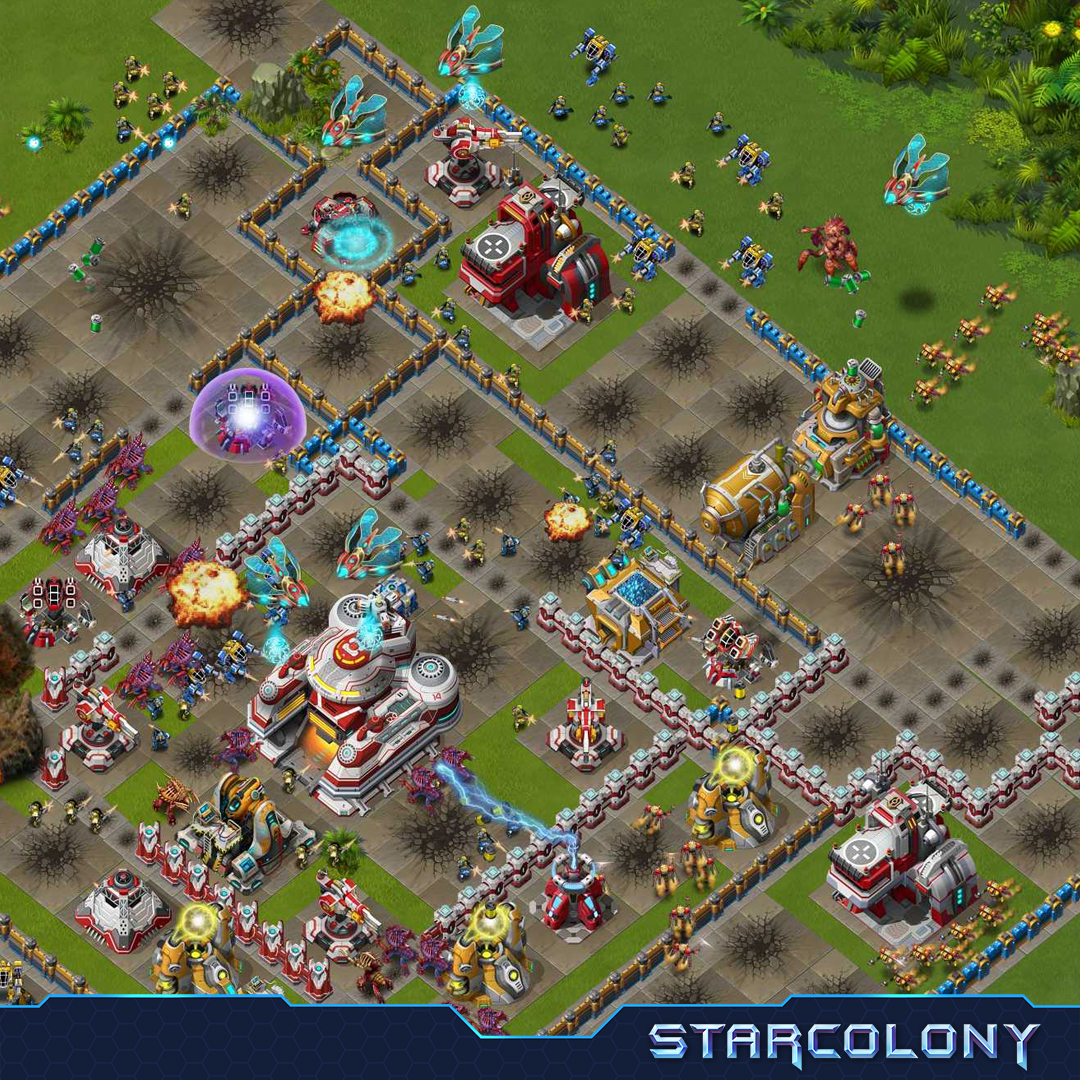 StarColony Gameplay Screenshot 3