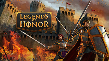 Legends of Honor - A free to play browser based medieval fantasy 2D MMORTS.