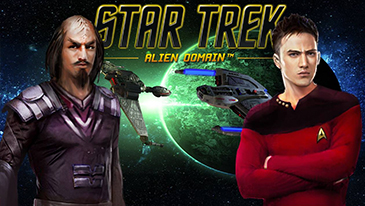 Star Trek: Alien Domain - A free to play browser based 2D strategy MMO set in the Stark Trek universe.
