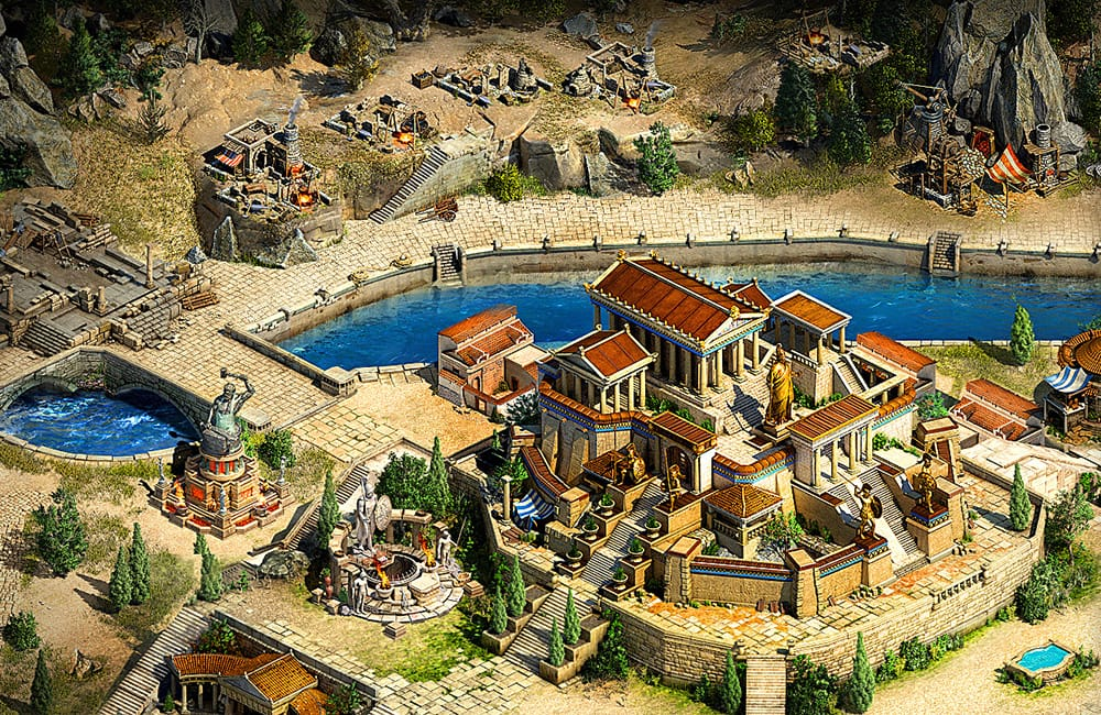 Sparta: War of Empires Gameplay Screenshot 2
