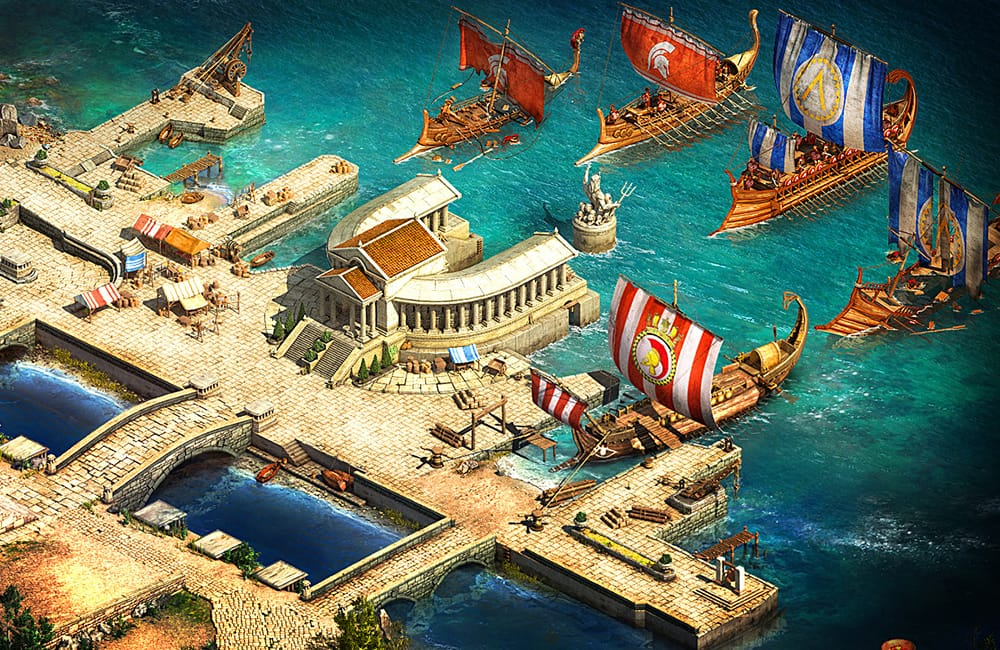 Sparta: War of Empires Gameplay Screenshot 3