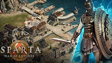 Sparta: War of Empires - A 2D browser based MMORTS in which players must exercise their city-management skills to construct and upgrade different structures and troops.