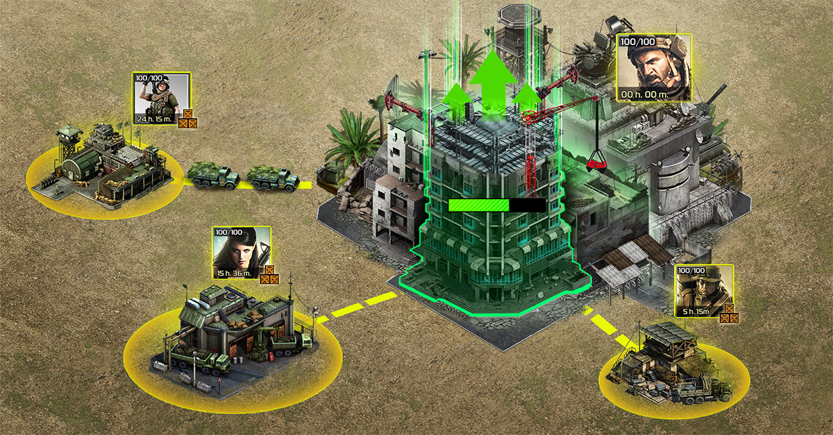Soldiers Inc. Gameplay Screenshot 3
