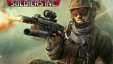 Soldiers Inc. - A free to play 2D top-down browser based MMORTS game.