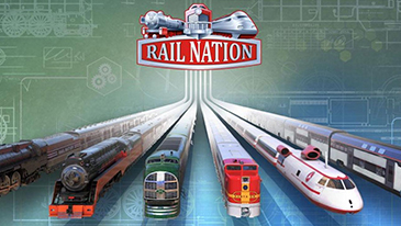 Rail Nation - A free to play 2D browser-based train simulation strategy MMO game.