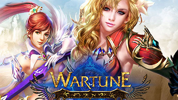 Wartune - A 2D browser-based Strategy MMORPG with classic turn based RPG features.