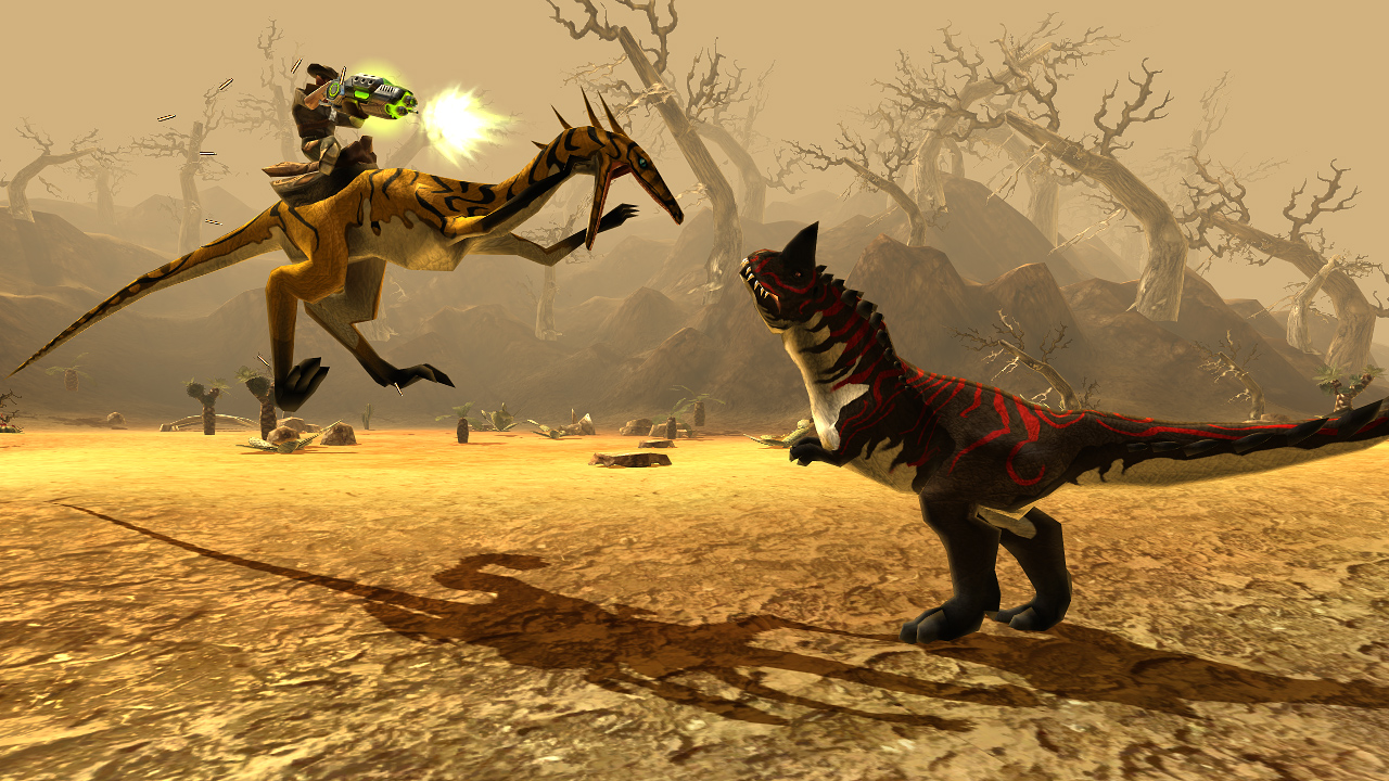 Dino Storm Gameplay Screenshot 1