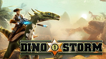 Dino Storm - A free-to-play 3D MMO with cowboys, dinosaurs, and laser guns.