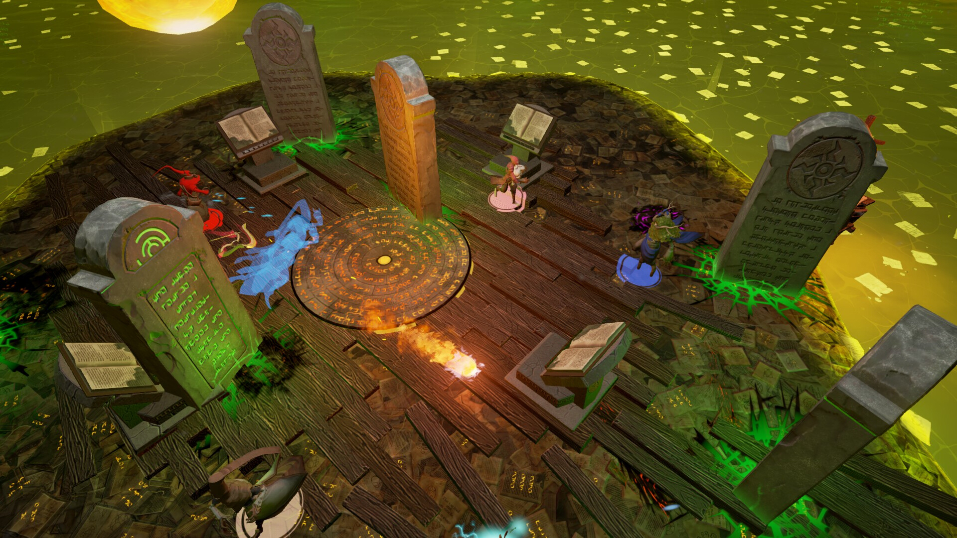 Spellsworn Gameplay Screenshot 2