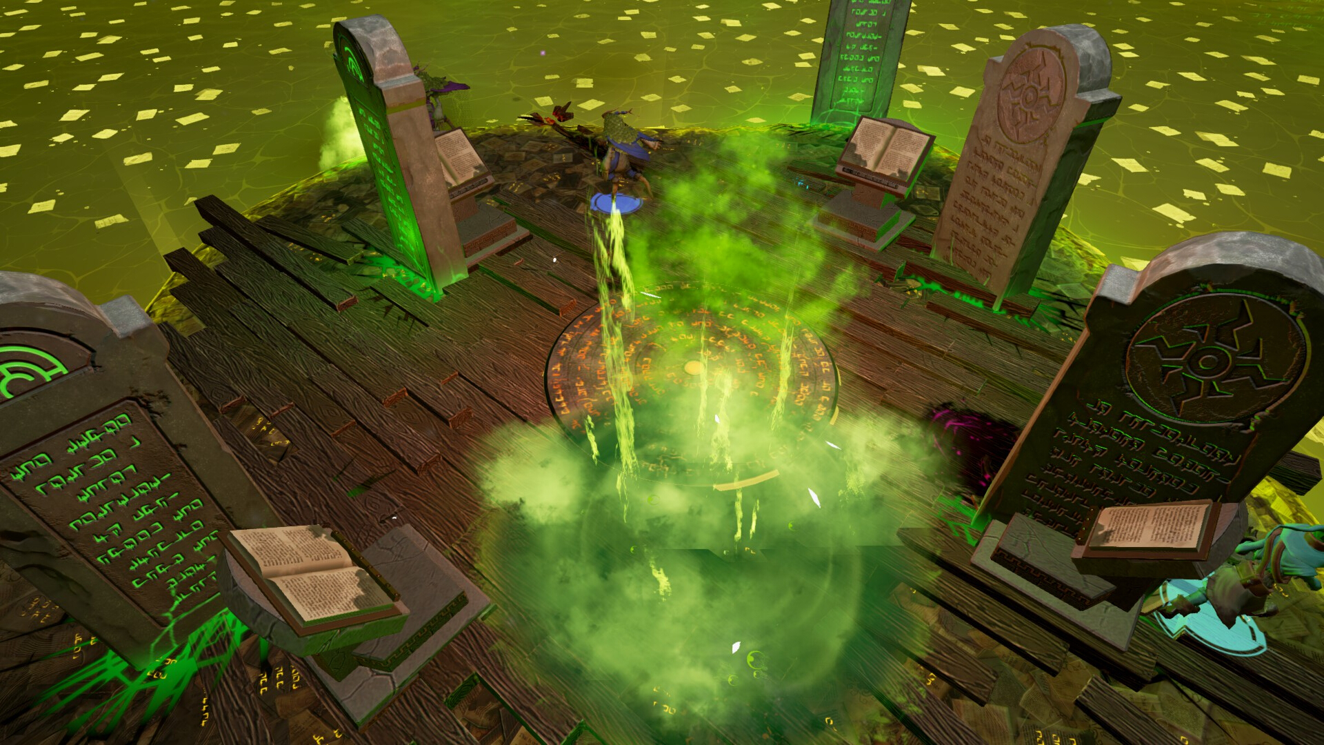 Spellsworn Gameplay Screenshot 4