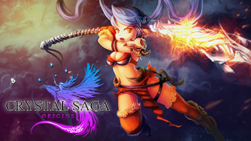 Crystal Saga - A free to play 2D browser-based MMORPG that allows players to explore the land of Vidalia.