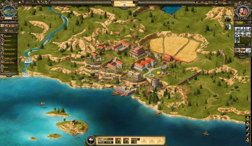 Grepolis Gameplay Screenshot 1