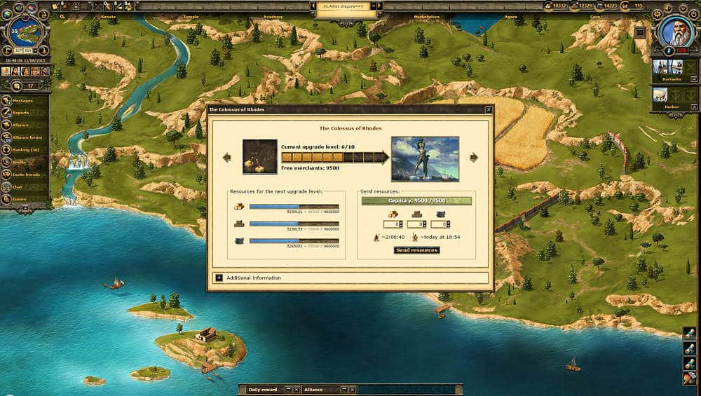 Grepolis Gameplay Screenshot 3