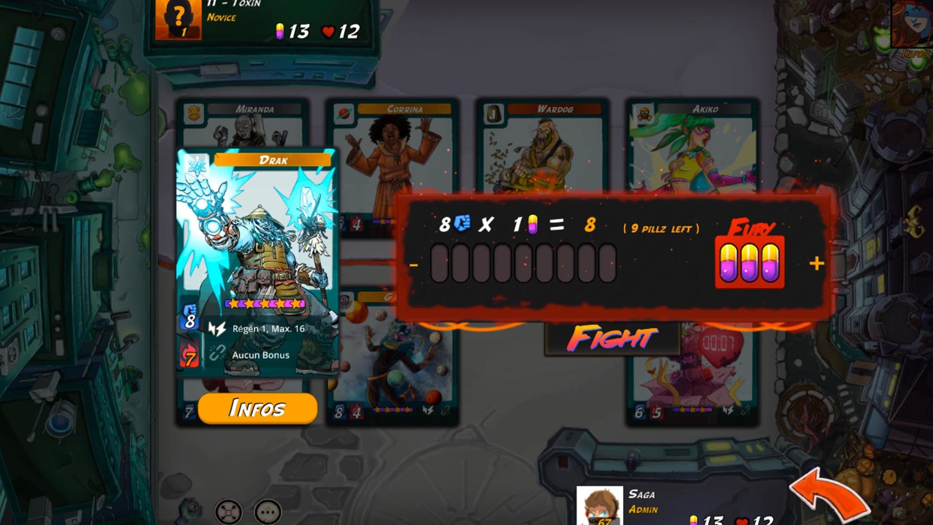 Urban Rivals Gameplay Screenshot 3